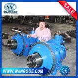 Machine de déchiquetage en plastique de double arbre approuvé de la CE pour la réutilisation de pneu