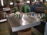熱い浸された電流を通された平らな鋼板か電流を通された鉄の平野シート