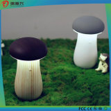 Banco portátil da potência do cogumelo novo com luz Emergency do diodo emissor de luz do carregador