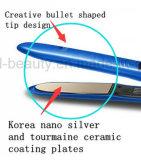 De gama alta Made in China Turmalina revestimiento de cerámica plancha para el pelo