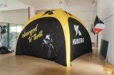Tenda promozionale e gonfiabile del ragno per l'evento e fare pubblicità
