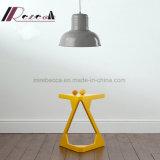 De individuele Gele Lamp van de Tegenhanger van de Draad van het Metaal Regelbare voor Koffie & Huis