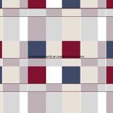 100%Polyester kühlen Rasterfeld-Pigment&Disperse gedrucktes Gewebe für Bettwäsche-Set ab
