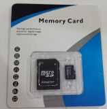Genuino al por mayor de 4 GB de tarjeta micro SD MicroSD TF adaptador de flash de memoria +