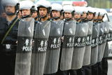 Forças armadas do protetor do PC do motim da polícia de Fbp-T-L-Yt as anti protegem