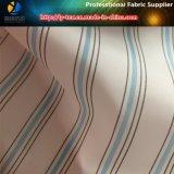 De blauwe die Stof van de Voering, de Stof van de Voering van de Koker van de Polyester in Garen voor Kostuum (S67.68) wordt geverft