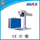 Laser do preto da alumina de China que grava a mini máquina da marcação do laser da fibra