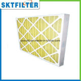 Pre de aire de filtro del papel del marco del panel filtro pre