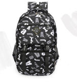 Escola de impressão de ressalto duplo, piscina de lazer do saco mochila Backpack Bag