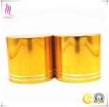 De hoge Glanzende Gouden Deksels van de Schroef van het Aluminium van de Oxidatie voor de Kruik van het Glas