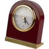 Corps en bois de l'hôtel tableau horloge avec une bonne base de chrome