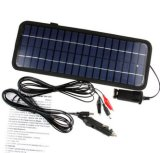 12V 4.5Wのモノクリスタル太陽電池パネルのモジュールシステム車の自動車ボート携帯用再充電可能な力の充電器