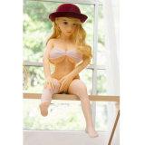 Silikon-Geschlechts-Puppe-Skeleton japanische erwachsene mini lebensechte orale Liebes-Puppen der Qualitäts-100cm reale