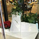Fo-325 Conjunto moderno Pot para decoração de flores de fibra de vidro