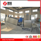 S.S.304 Tornillo Filtro Prensa para Lodo Bioquímico