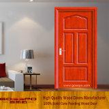 Mdf-Furnier-Blatthölzerne Tür (GSP6-001)