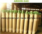 Bombole per gas dell'argon 40L con le valvole Cga580 dell'argon