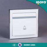 Переключатель стены дверного звонока кнопка Igoto B9091 электрический