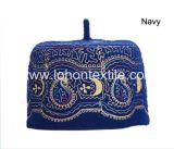 100% lana de fieltro bordado musulmanes bufanda sombrero fábrica tapa
