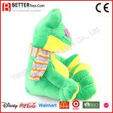 새로운 아기 아이를 위한 디자인에 의하여 채워지는 개구리 연약한 견면 벨벳 장난감