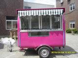 Caffetteria del Mobile della finestra di vetro di scivolamento