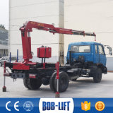 로봇식 팔 가격을%s 가진 3 톤 트럭에 의하여 거치되는 적재 기중기