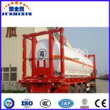 container van de 20feet40feet 31t ISO de Chemische Corrosieve Giftige Vloeibare Tank
