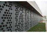Überzogenes Aluminium durchlöchertes Blatt für Zwischenwand färben