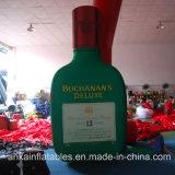 Хозяйственная и популярная подгонянная гигантская раздувная бутылка вина
