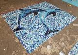 鉱泉のプールのタイルのためのガラスモザイク