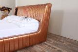 Preiswertes neues Art PU-Größengleichbett-modernes weiches Bett