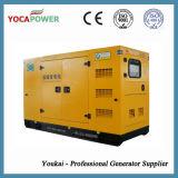 Gás elétrico diesel com gerador elétrico a 3 fases Cummins à prova de som de 30kw