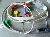 Cable de GE-Rozinn 10 Snap&Clip ECG