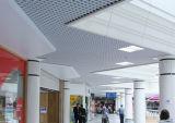 競技場のための装飾的な中断された金属の格子天井のアルミニウム三角形