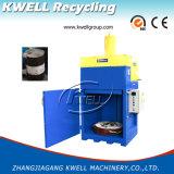 縦のバレル梱包機械またはオイルバレルの出版物梱包機械か油圧梱包機