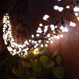 Шнур рождества самого лучшего продавеца освещает 3m 400 напольных светов шнура Xmas СИД белых декоративных ультра ярких и крытых польз