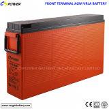 bateria dianteira do acesso 12V80ah terminal para o armazenamento solar