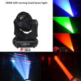 150W 200W LED Beam Moving Head Stage Light Beam Spot Gobo Trois en un