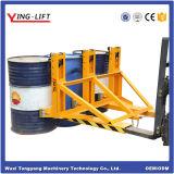 Anexos do carro elevador com 1100 lb. (500 kg) de capacidade por tambor