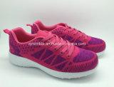 Nuevo diseño de moda Flyknit zapatillas deportivas para los hombres las mujeres