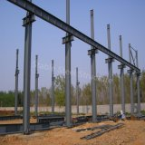 Helles Stahlkonstruktion-Gebäude für Fertigwerkstatt