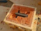 Moulage au sable de résine de robinet à tournant sphérique de soupape de bloc de pièce de soupape