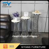 Diseños modernos del soporte de flor del metal de los muebles para el hogar