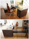 Mode et design moderne Cuir PVC / MDF Office Table (V3)