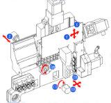 Japneseの星のタイプは32mmを安い価格の5つの軸線CNCの旋盤機械退屈させる