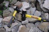 4lb forjó el martillo de trineo del acero de carbón con la maneta de la fibra de vidrio