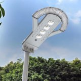 Lámpara LED Garden Street controlador remoto todo en uno con la lámpara solar ligera solar al aire libre del paisaje de