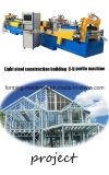 Bâti en acier de haute précision formant la machine pour la construction en acier légère