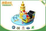 Tren del tren redondo eléctrico del carril de los niños mini para el parque de atracciones