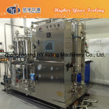 Máquina de rellenar de la bebida fría carbónica del animal doméstico/de la botella de cristal
